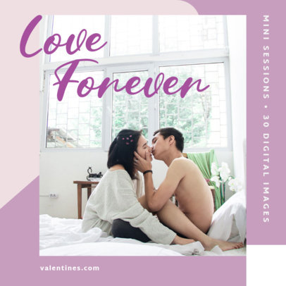 Instagram Post Generator Featuring Romantic Couple Pictures 3430a-el1