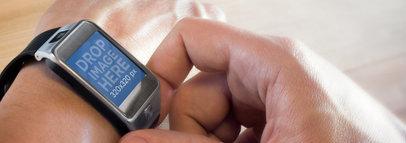 Samsung Galaxy Gear 2 Portrait Gesture Wide