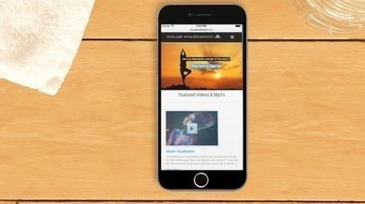 iPhone App Demo Video at Pilates Studio (With Gestures)