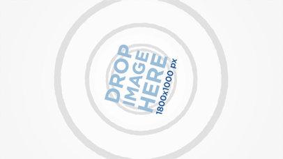 Logo Animation - White Background Spinning Logo a17086