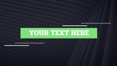 Text Animation Maker with Glitch Effect 233
