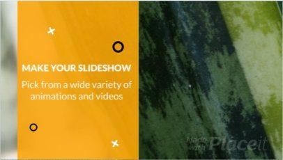Stylish Slideshow Video Maker 806
