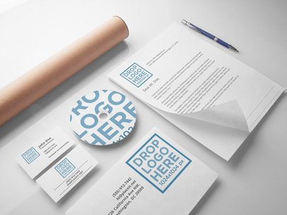Branding and Visual Identity Mockup Template a6301