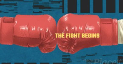 Slideshow Video Maker for a Boxing Competition Video 435b