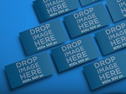 Mockup Featuring a Set of Business Cards a6223
