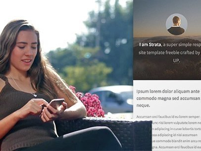 Girl Sitting at an Outdoor's Cafe App Demo Video a8101