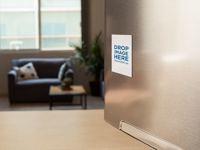 Magnet Template on a Fridge in the Living Room a14788